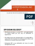 Guias de Hypertension Jnc 8