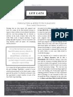 Lex Lata Ed 1 of 2014
