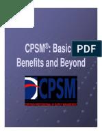 CPSM Basics