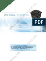 Samsung SCX 4623F Parts Catalogue