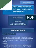 Proposal Penelitian - Osteoporosis