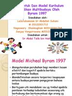 Reka Bentuk Dan Model Kurikulum Pendidikan Multibudaya Oleh