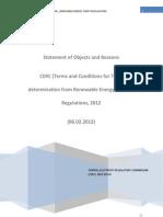 RE Tariff Regulations 2012 SOR 6-2-2012