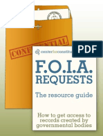 How to FOIA