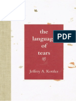 Jeffrey Kottler - The Language of Tears