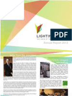 LightingEurope Annual Report 2013