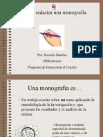 Como Redactar Una Monografia