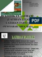 Latihan Fartlek & Litar