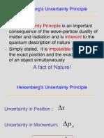 Heisenberg Uncertainity Principle