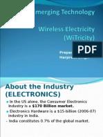 Wireless Electricity