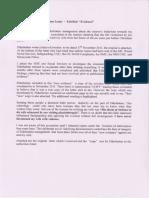 Elderholme Eviction Letter