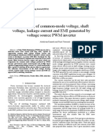 Suppressing of Common-mode Voltage, Shaft Voltage, Leakage Current and EMI Generated by Voltage Source PWM Inverter