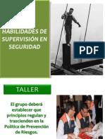 Habilidades de Supervisión en Seguridad