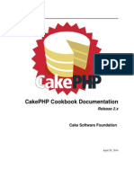 Cake Php Cookbook