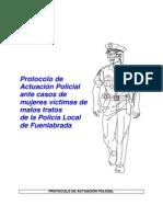 Protocolo Policia Fuenlabrada