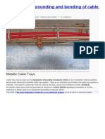 Practices for grounding and bonding of cable trays.doc