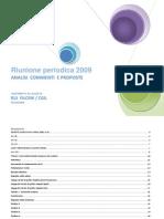 Relazione a Riunione Periodica 2009