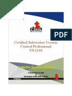 Subversion Version Control Certification