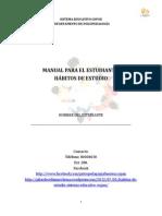 Manual Para El Estudiante Habitos de Estudio Recuperado1