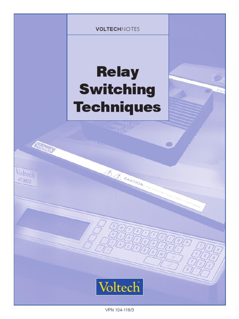 104 118 Relay Switch Lifetime