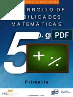 Cuadernillo de Matemática 5to. Primaria