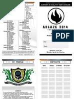 ABLAZE 2014 - HANDBOOK