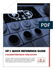 OP 1 Reference