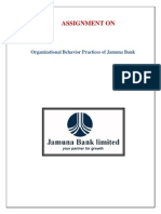 Assignment on Jamuna Bank