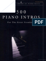 Ed Shanapy 500 Piano Intros for the Great Standards