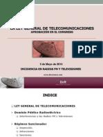 Ley_general_telecomunicaciones_incidencia en Radio y Tv