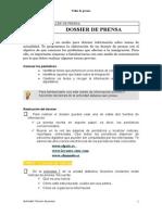 TP 5 Dossier de Prensa