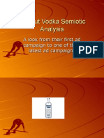 Absolut Vodka Semiotic Analysis
