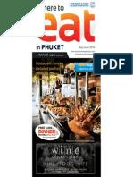 Where to Eat Phuket May - June 2014
