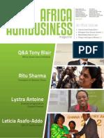 Africa Agribusiness Magazine, May 2014 Magazine