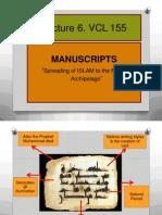 Lecture 6. VCL 155 Quran and Manuscripts