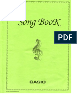 Casio Song book pdf