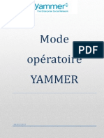 Guide Utilisateur Yammer Open