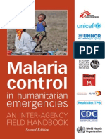 2008 - WHO - Malaria Control in Humanitarian Emergencies