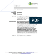 Material Safety Data Sheet Jatropa Curcas DTZ 2009