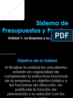 Sistema de Presupuestos y Precios_La Empresa