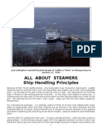 All About Steamers - Ship Handling Principles