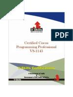 Cocoa Programming Certification