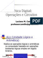 ELE288 - CIRCUITOS ARITMETICOS