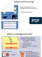 Background Processing