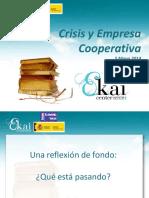 CRISIS Y EMPRESA COOPERATIVA