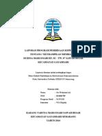 Laporan Program Pembinaan Kepemudaan