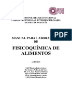 Manual de Fisicoq. de Alim.