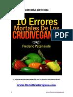 10 Errores Mortales Crudiveganos