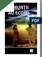 Khaled Hosseini Si Muntii Au Ecou