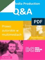 New Media Production - Prawo Autorskie - Q&A